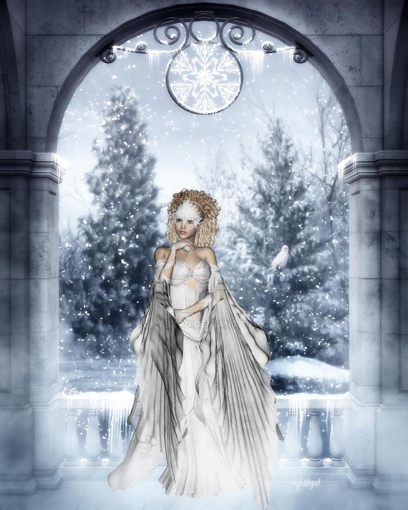 Citaten Winter Queen : Winter queen by nightbyrd on deviantart