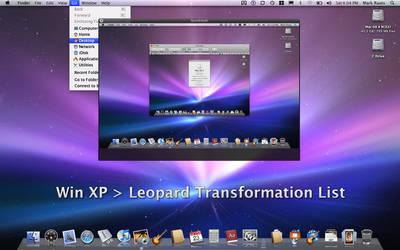 XP-Leopard transformation list