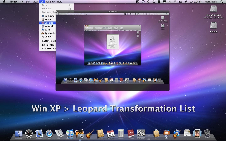 Xp leopard transformation list by raatsgui on deviantart for Window xp iso