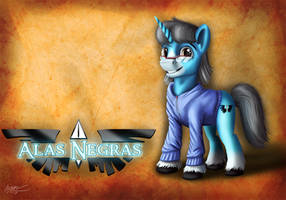 Alas Negras (Commission) by MisiekPL