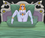 Twilight Princese Midna in her bed waiting for you by Nawa88