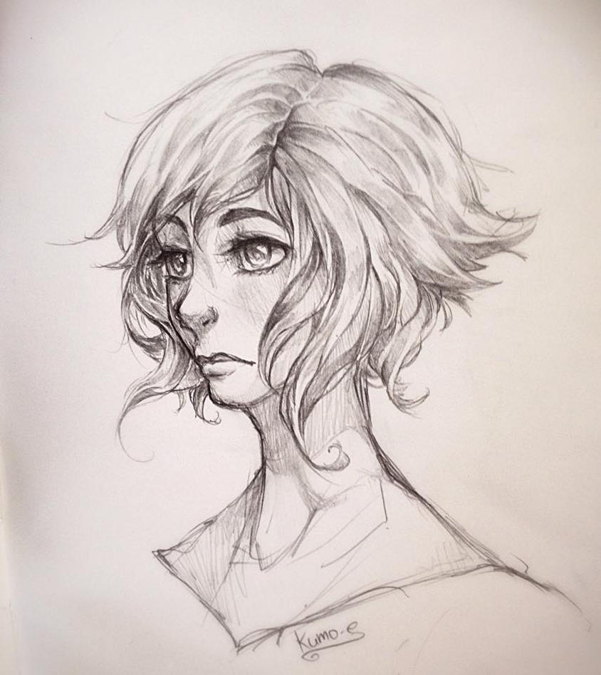 Portrait by kumo-e