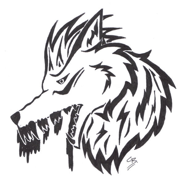 Bloodspill Tattoo Design by TribalTattooWolf