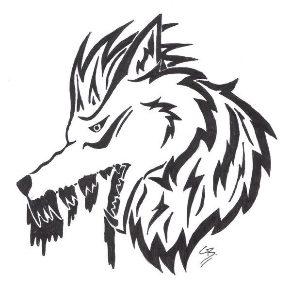 Bloodspill Tattoo Design by TribalTattooWolf
