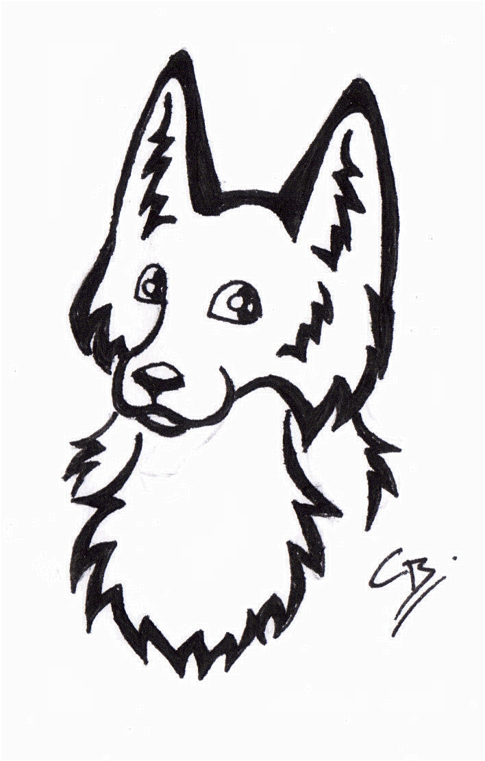 Cute Fox Tattoo by TribalTattooWolf