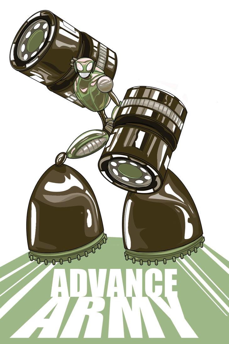 Advance Army by Jorell-Rivera