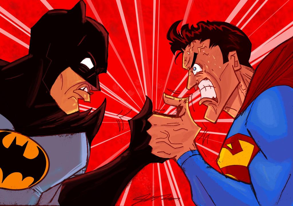 Batman V. Superman: The Final War by Jorell-Rivera