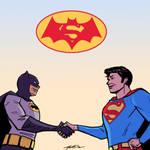 Batman v Superman: 70's Style