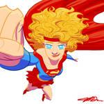 Supergirl by Jorell-Rivera