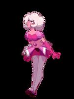 curious pink diamond