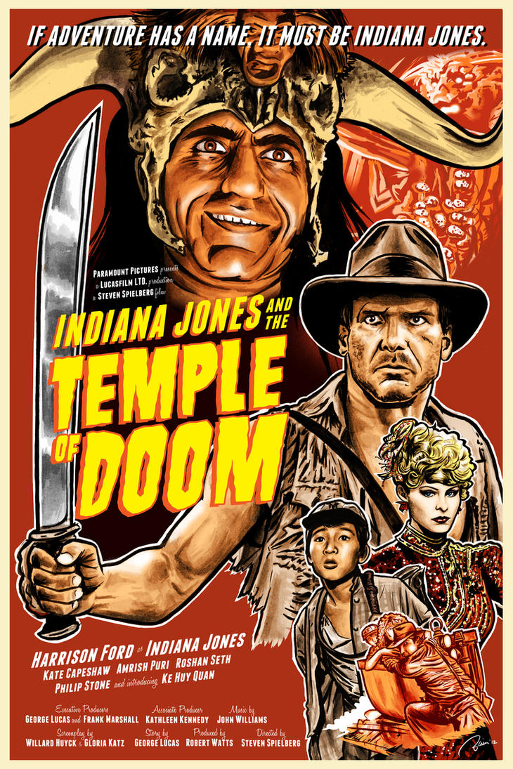 Indiana Jones and the Temple of Doom by Hefnatron