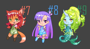 Adopts-7,8,9 auction OPEN by Grimlai
