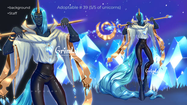 Adopts #39 auction CLOSED