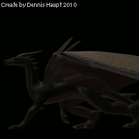 dragon walk Cycle by DennisH2010
