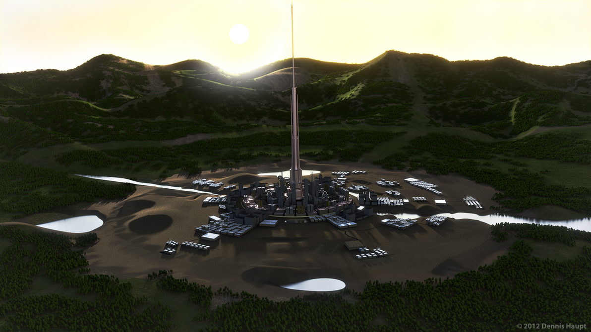city concept render by DennisH2010