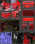 Old AEC Routemaster Bus by DennisH2010