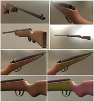 Airgun Haenel Model III-56 Knicker by DennisH2010