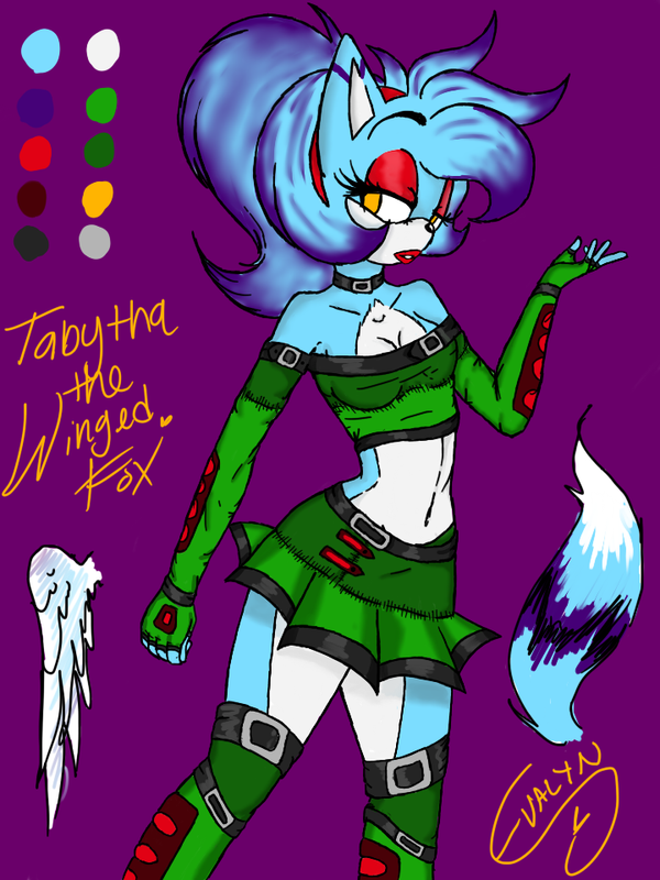 Tabyha's New Look Ref by MaliciousWhispers