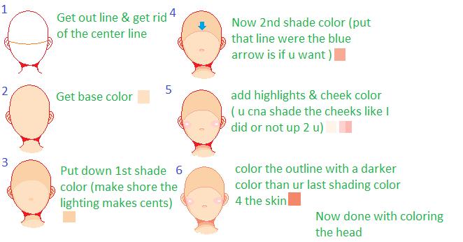 Pixel Head Coloring Tutorial by shaeshaesweet on DeviantArt