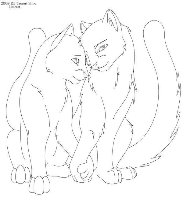 warrior cats printable coloring pages - photo#30