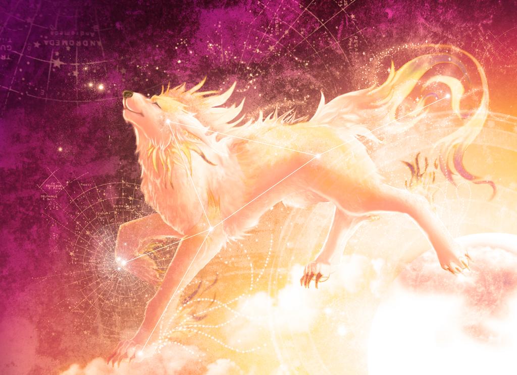 Sundog Star Constellation by Tesseri-Shira