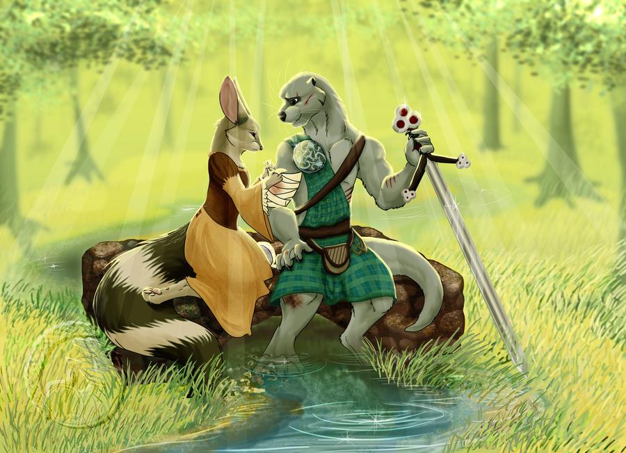 Mending a Warrior by Tesseri-Shira