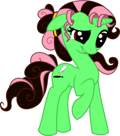 Mint Condition or Pen Scratch MLP by Tesseri-Shira