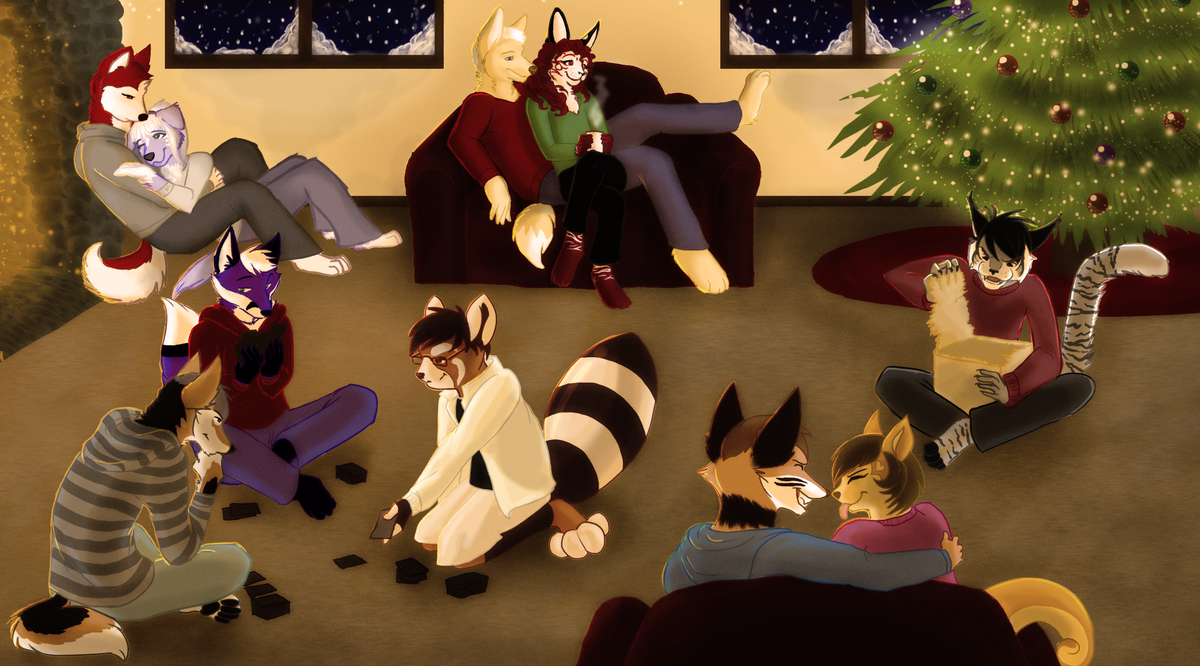 Merry Christmas and Happy Holidays by Tesseri-Shira
