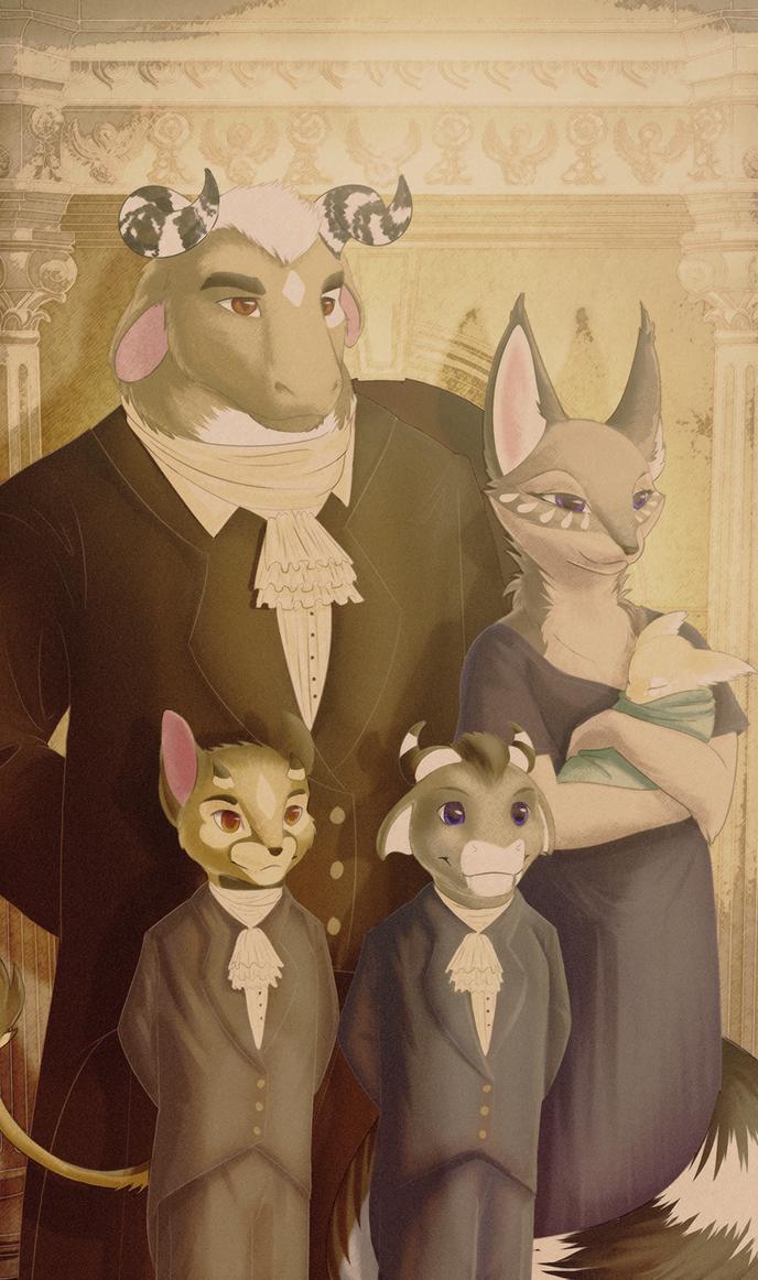 Family Portrait by Tesseri-Shira