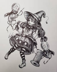 Witchy Seamstress