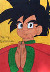 Merry Christmas from Gohan by safiric2