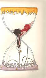 I lost track of the time. by Illustroluna