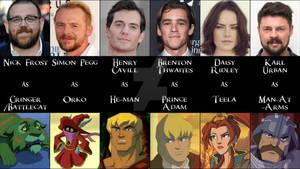 He-Man Fan Casting Chart: He-Man Crew