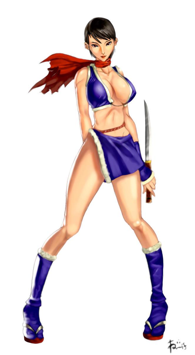 3d kunoichi sexy girl