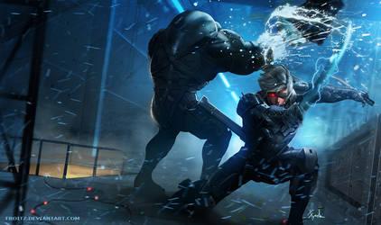 Raiden Metal Gear Rising : Revengeance by Froitz