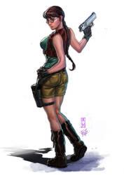 Lara croft by Froitz