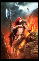Red Sonja tribute by Froitz