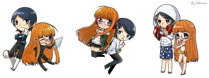 Yusuke and Futaba x3