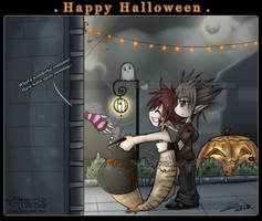 Trick or treat by cindre