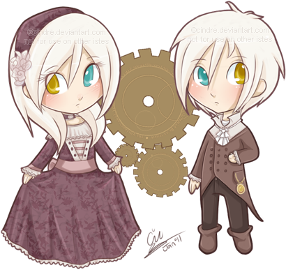 The Children chibis by cindre