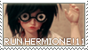 RUN HERMIONE by cindre