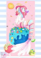 Candy Mermaid by cindre