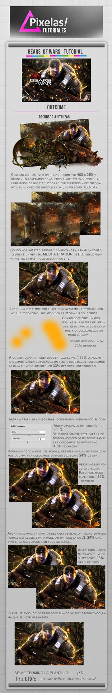 Gears of wars tut part 1 by keitoAK