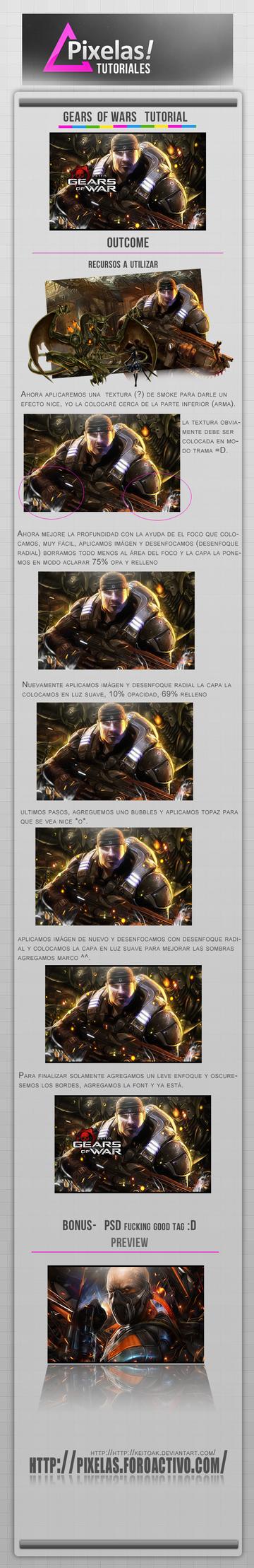 Gears of wars tut part 2 by keitoAK