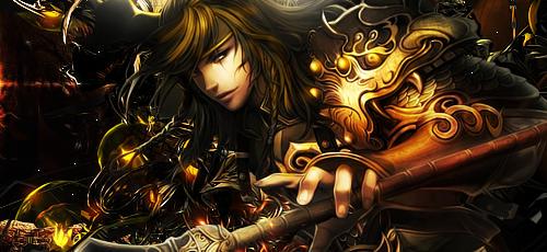 Golden warrior (?) by keitoAK