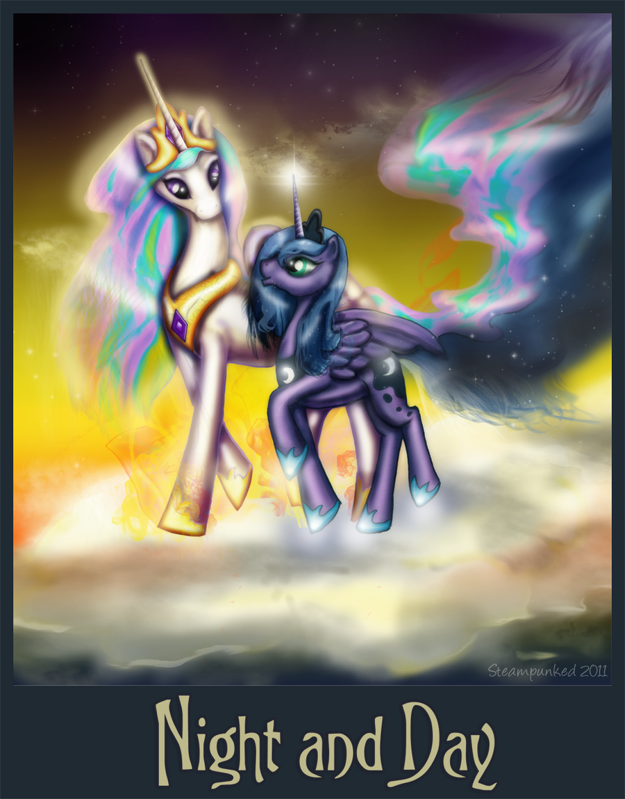 Goddesses - Night and Day by ceredwyn