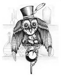 For DQ Games: Clockwork Owl
