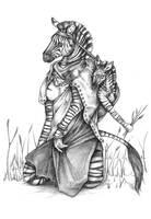 Zebra - Nomad by ceredwyn