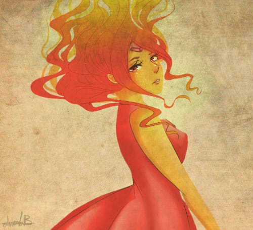 Flame Princess by water-panda-chan
