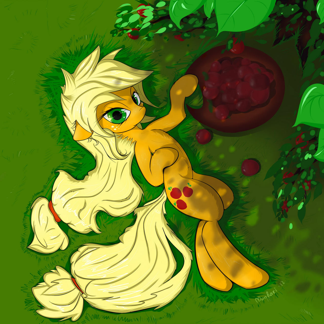 Apples by Munkari